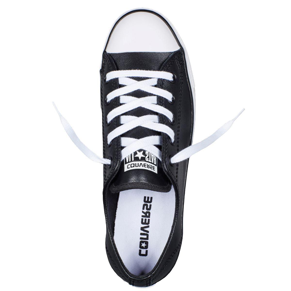 נעלי אולסטאר בובה עור נשים Converse Dainty Leather