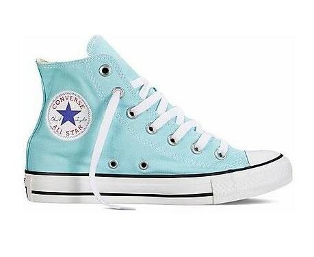 נעלי אולסטאר תכלת טורקיז נשים Converse Poolside