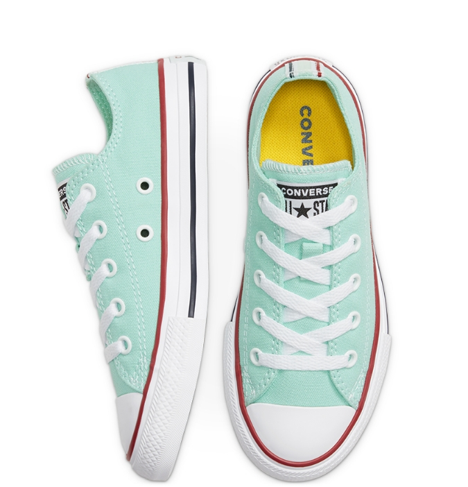 נעלי אולסטאר מנטה ילדים Converse Ocean Mint - תמונה 2