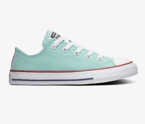 נעלי אולסטאר מנטה ילדים Converse Ocean Mint