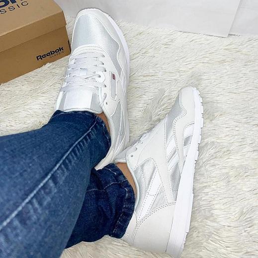 נעלי ריבוק אופנה נשים Reebok Classic Nylon Color - תמונה 4