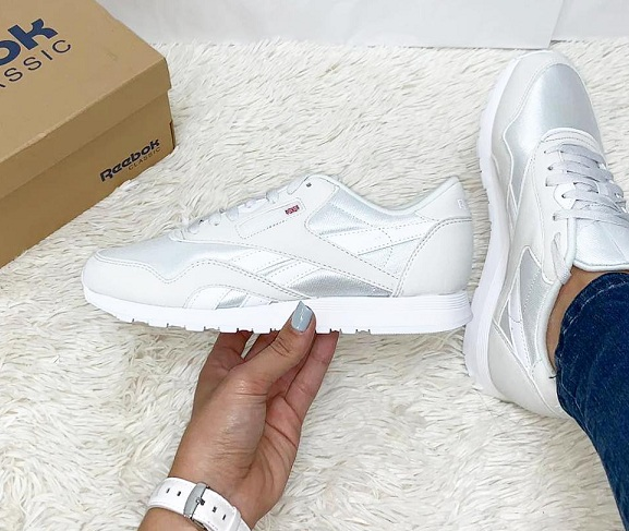 נעלי ריבוק אופנה נשים Reebok Classic Nylon Color - תמונה 3