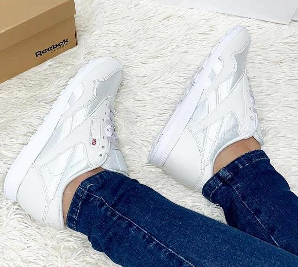 נעלי ריבוק אופנה נשים Reebok Classic Nylon Color - תמונה 5