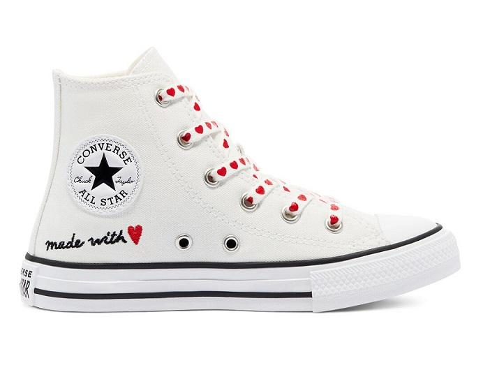 נעלי אולסטאר יום האהבה ילדות Converse Valentine's Day
