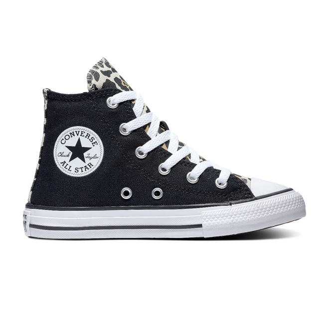 נעלי אולסטאר ילדות מנומר Converse Black Drift - תמונה 3