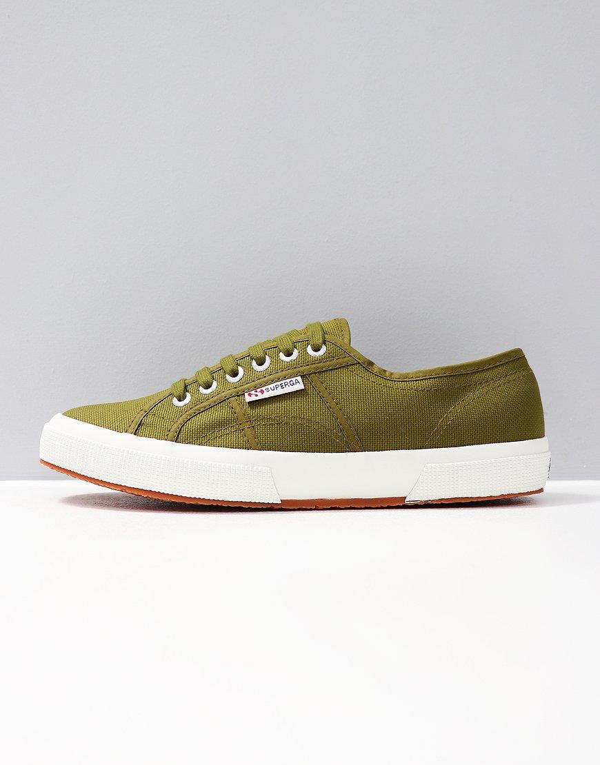 נעלי סופרגה ירוק זית נשים גברים Superga Military Green