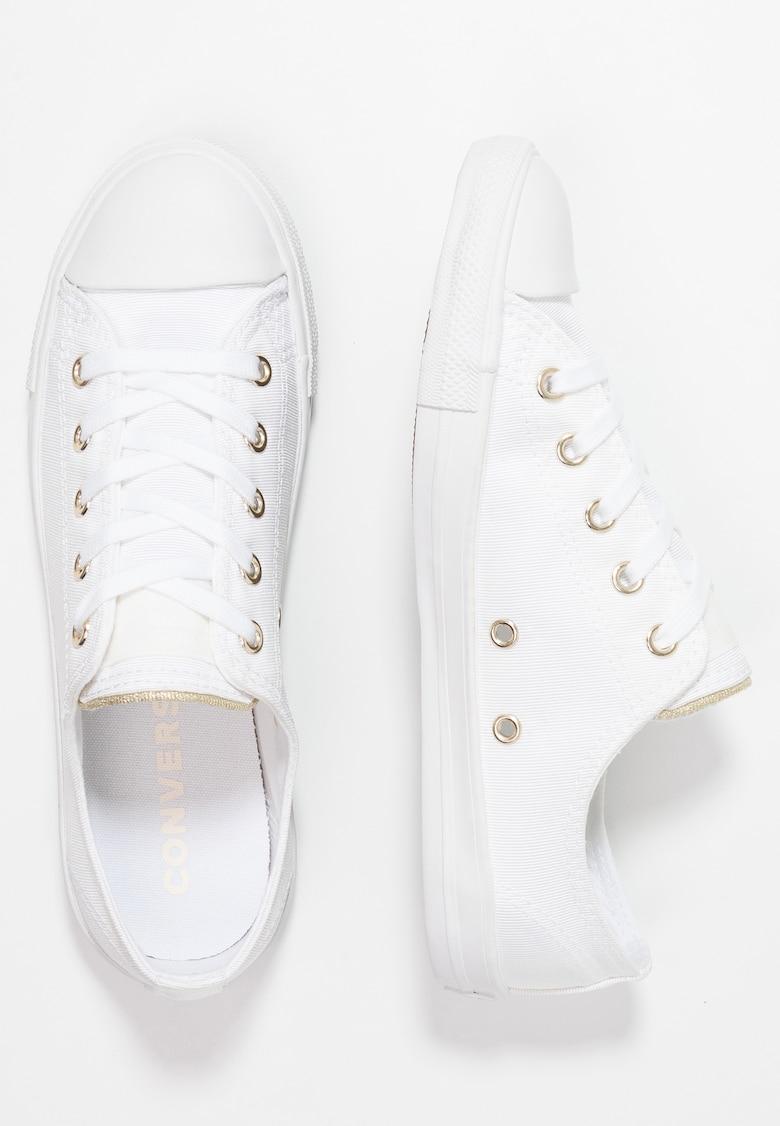נעלי אולסטאר בובה לבן זהב Converse  Dainty Summer Palms