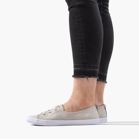 נעלי אולסטאר בובה בלט נשים Converse Ballet Lace Slip