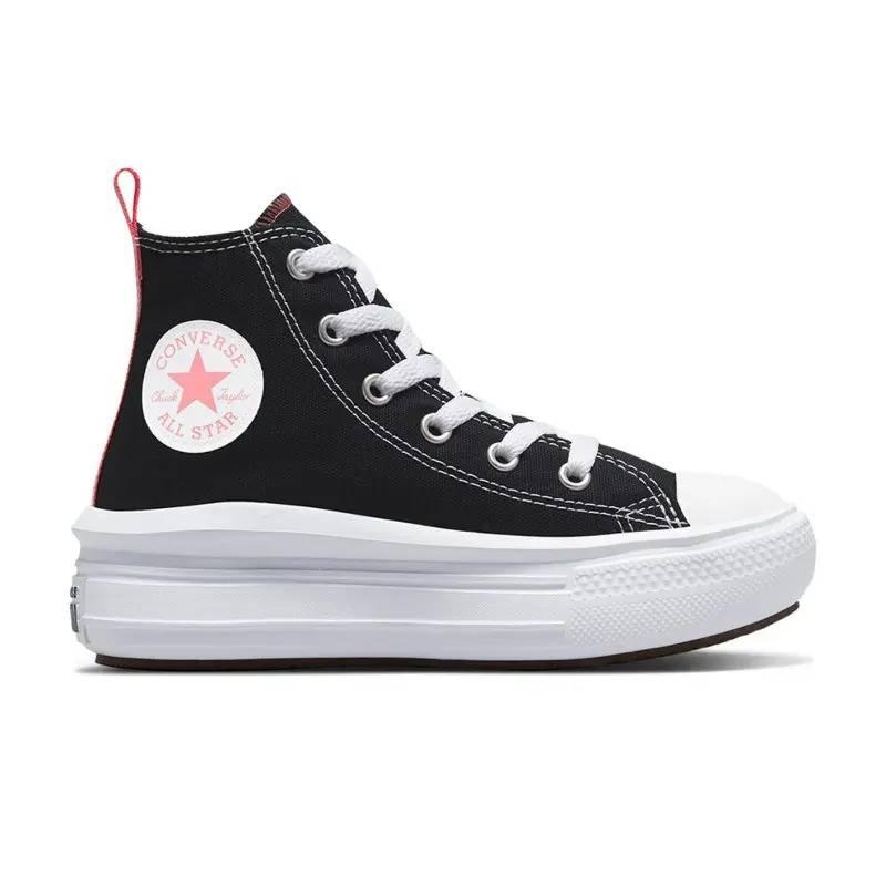 נעלי אולסטאר פלטפורמה ילדות Converse Move Platform