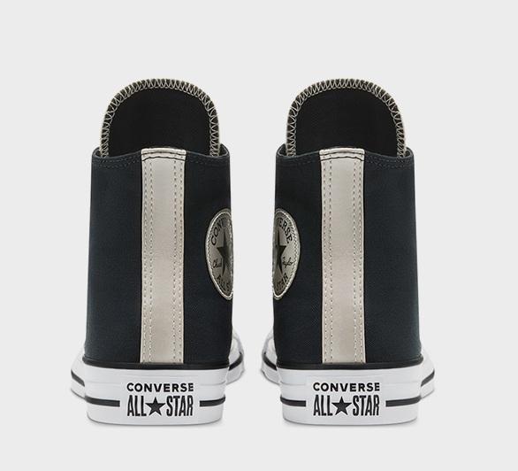נעלי אולסטאר שחור זהב נשים Converse Shiny Metal Gold