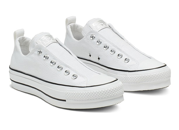 נעלי אולסטאר פלטפורמה ללא שרוכים נשים Converse Platform Slip
