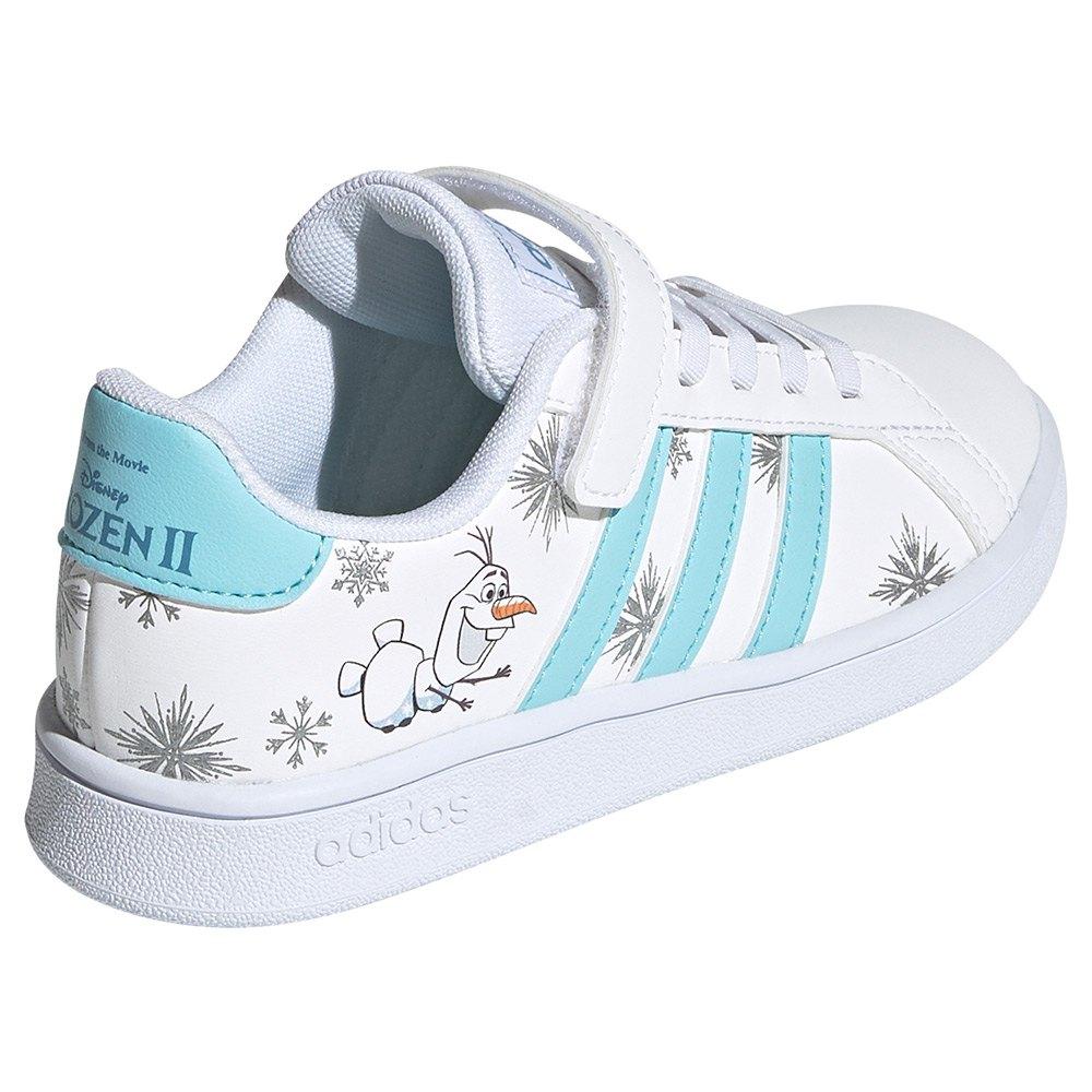 נעלי אדידס פרוזן ילדים Adidas Grand Court Frozen Olaf