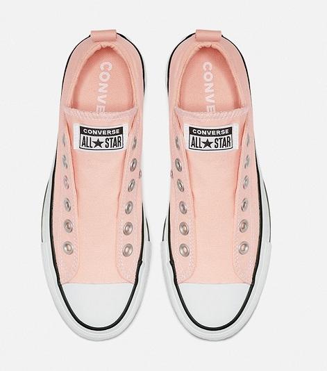 נעלי אולסטאר פלטפורמה ללא שרוכים נשים Converse Platform Slip - תמונה 3