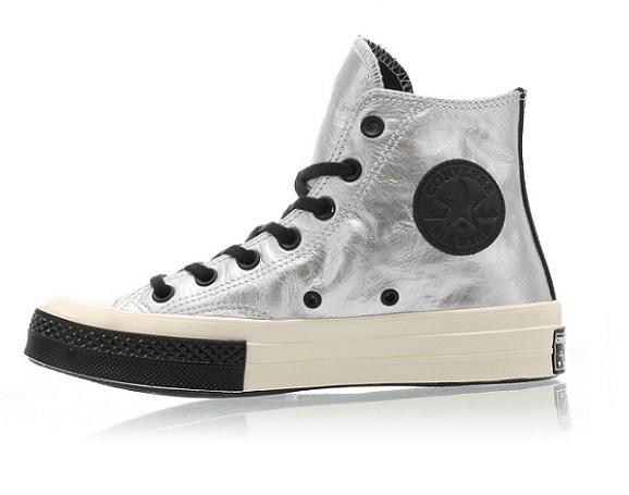 נעלי אולסטאר כסף שנות השיבעים Converse Chuck Flight School 70