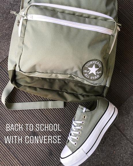 תיק גב אולסטאר Converse Go Backpack - תמונה 2