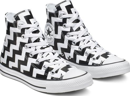 נעלי אולסטאר נשים Converse Glam Dunk - תמונה 2