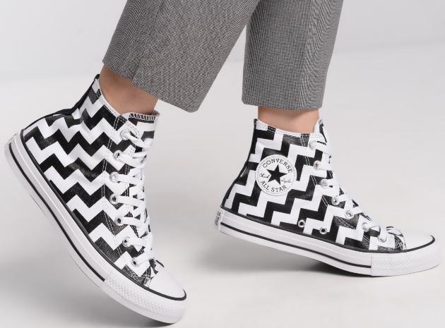 נעלי אולסטאר נשים Converse Glam Dunk