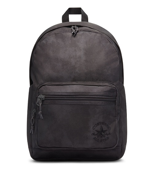 תיק גב שחור משופשף אולסטאר Converse Go Washed Backpack