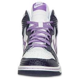 נעלי ניייק גבוהות נשים נערות NIKE DUNK - תמונה 2