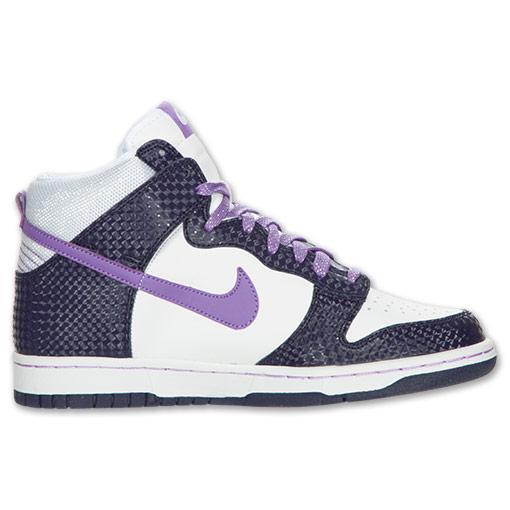 נעלי ניייק גבוהות נשים נערות NIKE DUNK - תמונה 4