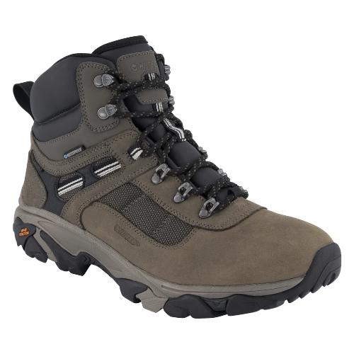 נעלי הייטק טיולים גברים HI-TEC Ravus Quest Mid WaterProof