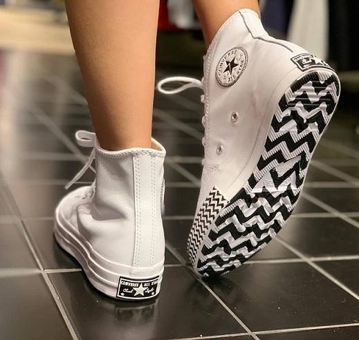 נעלי אולסטאר עור שנות ה 70 Converse Chuck Mission-V - תמונה 2