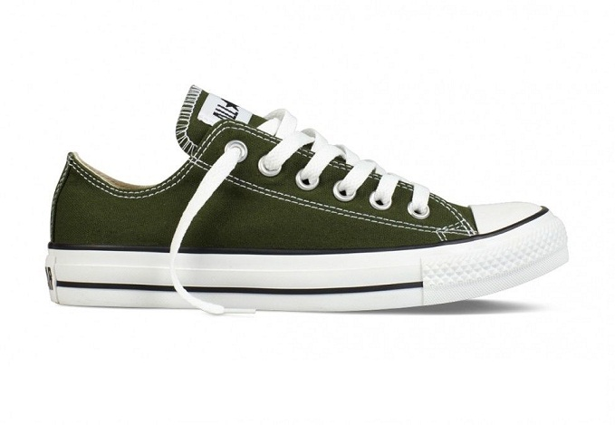 נעלי אולסטאר ירוק זית  CONVERSE KOMBU GREEN