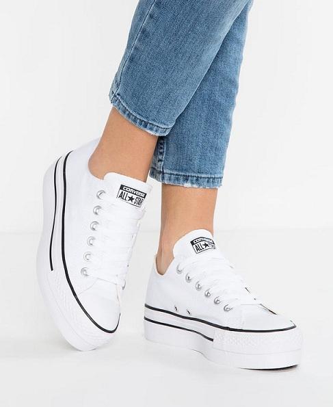 נעלי אולסטאר פלטפורמה נשים Converse Platform