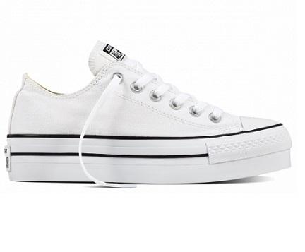 נעלי אולסטאר פלטפורמה בד נשים Converse Platform