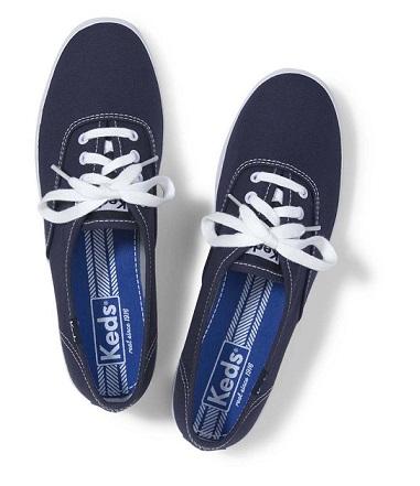 נעלי קדס נשים כחול Keds champion navy
