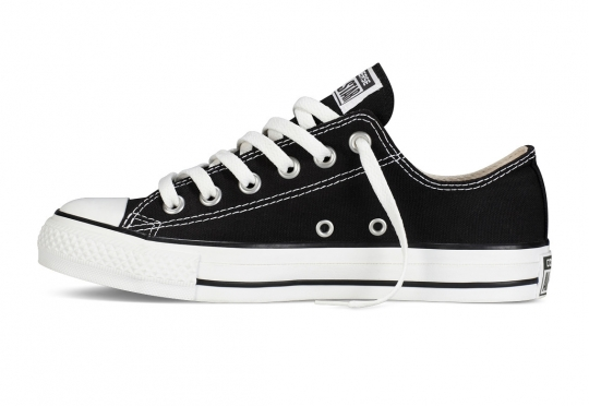 נעלי אולסטאר שחור חצאיות נשים גברים Converse black