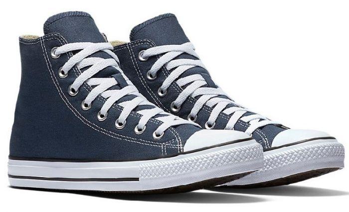 נעלי אולסטאר כחול גבוה נשים גברים Converse navy