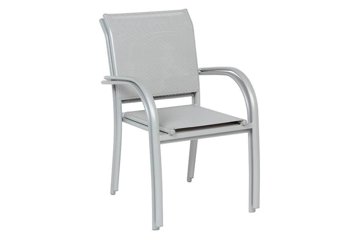 שולחן אלומיניום נפתח 200/320x100 ל-12 סועדים