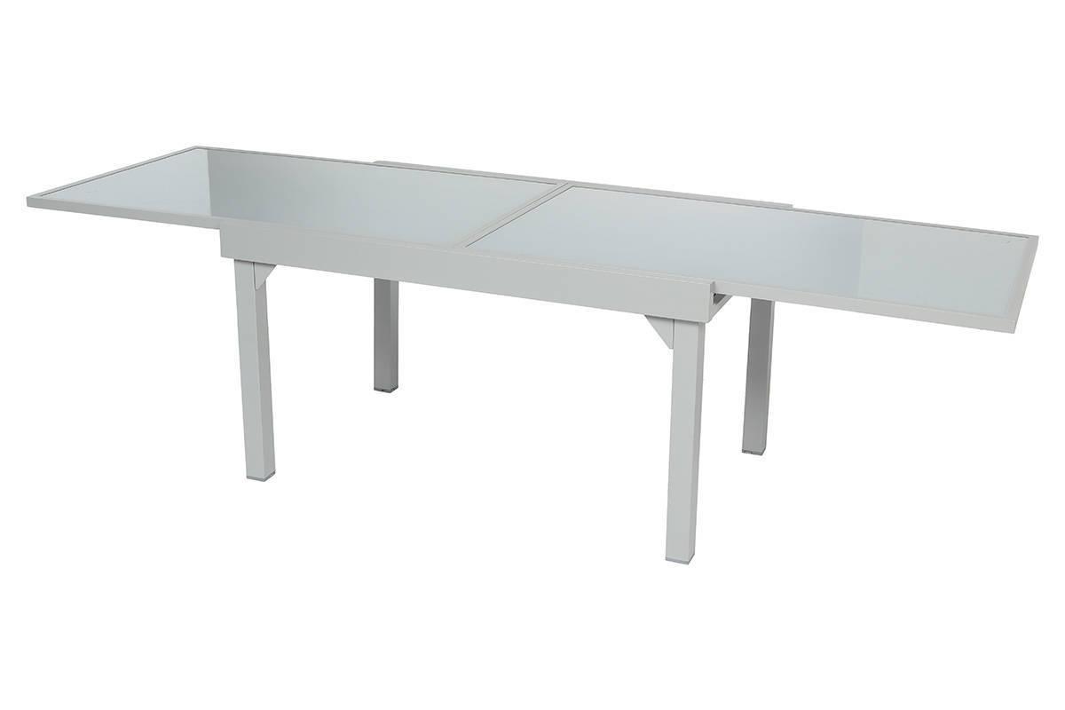 שולחן נפתח אלומיניום 135/270*90