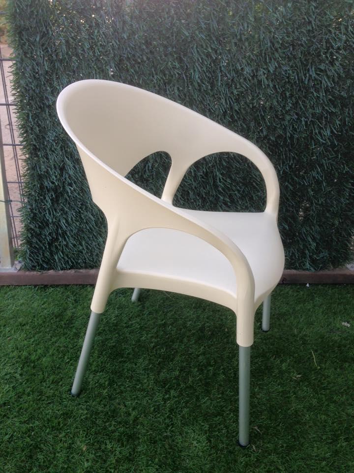 כיסא פלסטיק דגם LUNA