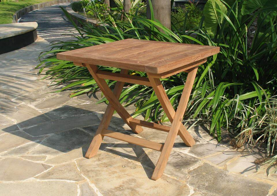 שולחן ביסטרו נמוך מעץ דגם MINI