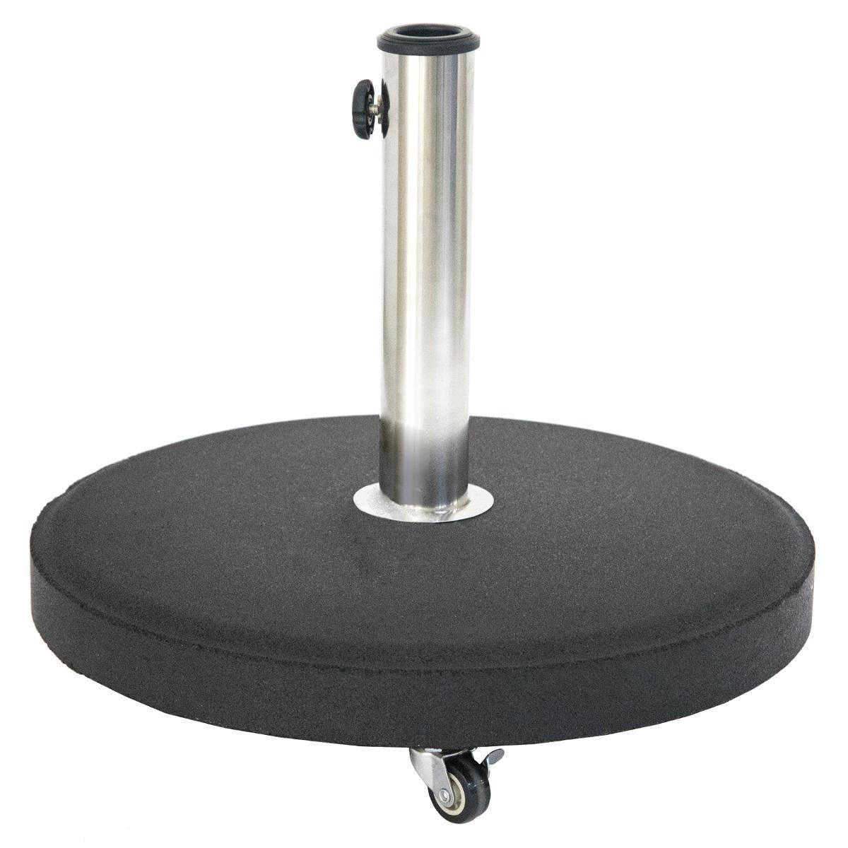בסיס לשמשיה 25 קג עם גלגלים