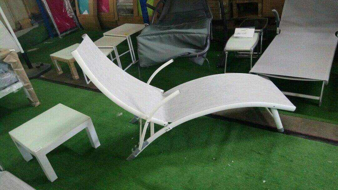 מיטת שיזוף אלומיניום דגם RIO