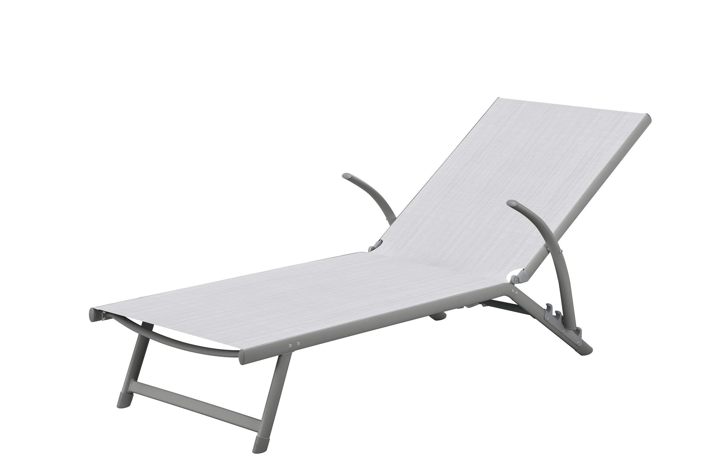 מיטת שיזוף מאלומיניום דגם RIVIEIRA