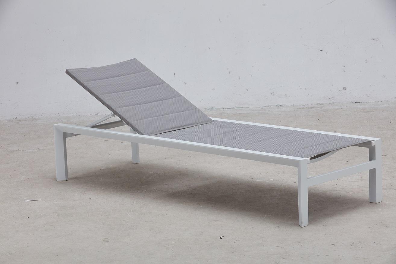 מיטת שיזוף מאלומיניום דגם STYLE