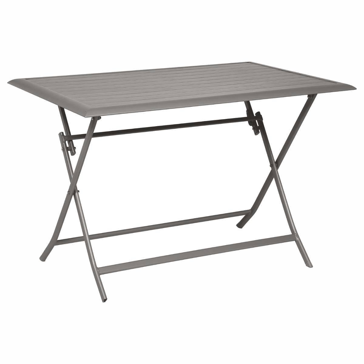 שולחן אלומיניום 110X70 מגוון צבעים