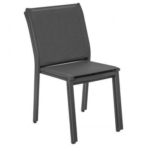 כסא אלומיניום  דגם ESSENTIA ללא ידיות