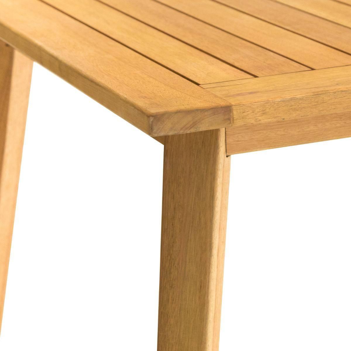 שולחן עץ דגם ESTIVA