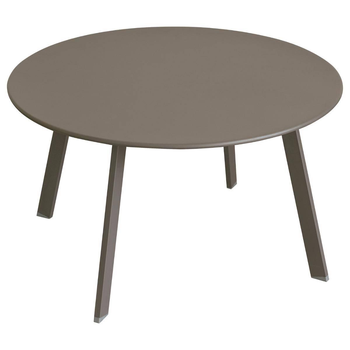 שולחן נמוך דגם SANOA קוטר 70 סמ
