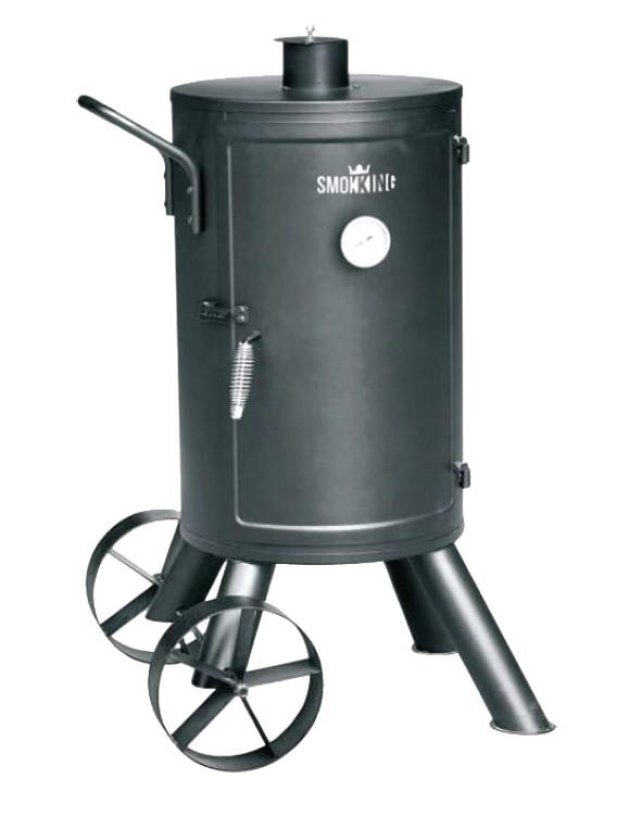 מעשנת פחם חבית SLIM