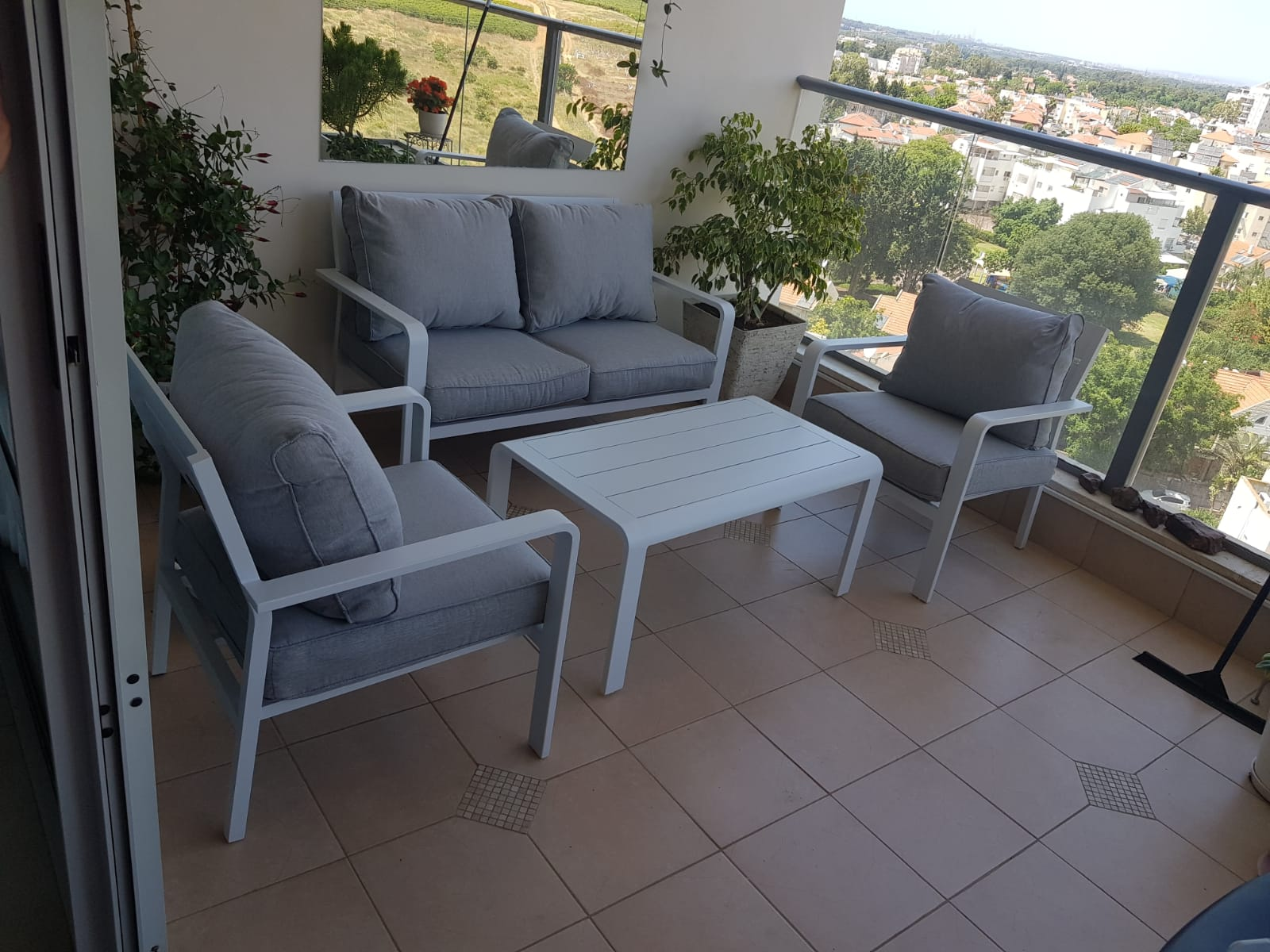 פינת ישיבה לגינה ולמרפסת דגם ORLANDO