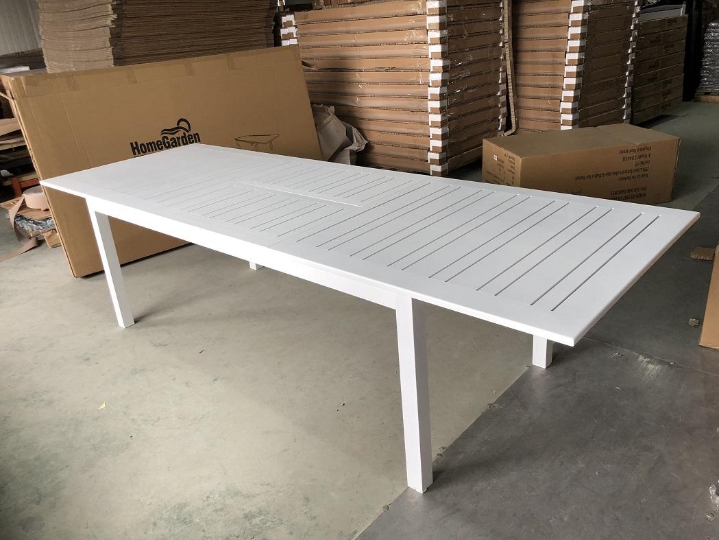 שולחן אלומיניום נפתח לגינה 100X216/300