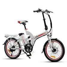 אופניים חשמליים עם בולם אחורי
