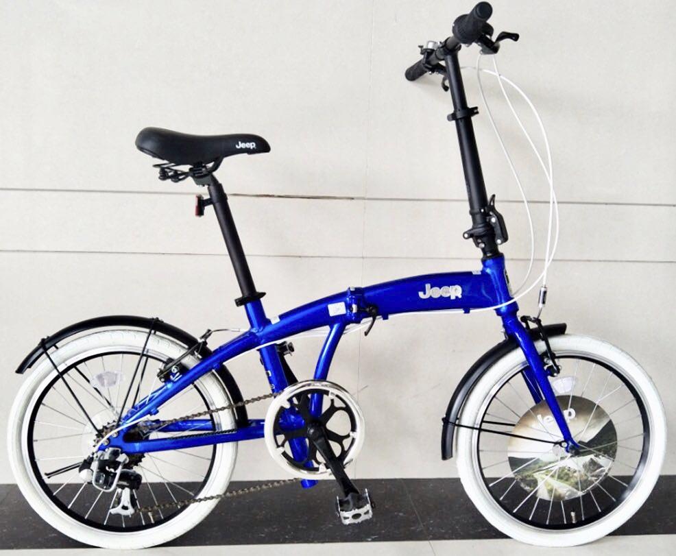 אופניים מתקפלים JEEP מאלומיניום