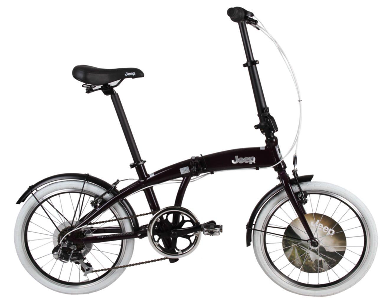 אופני JEEP מתקפלים מאלומיניום